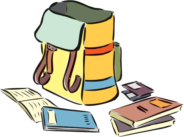 Backpack & Books 1