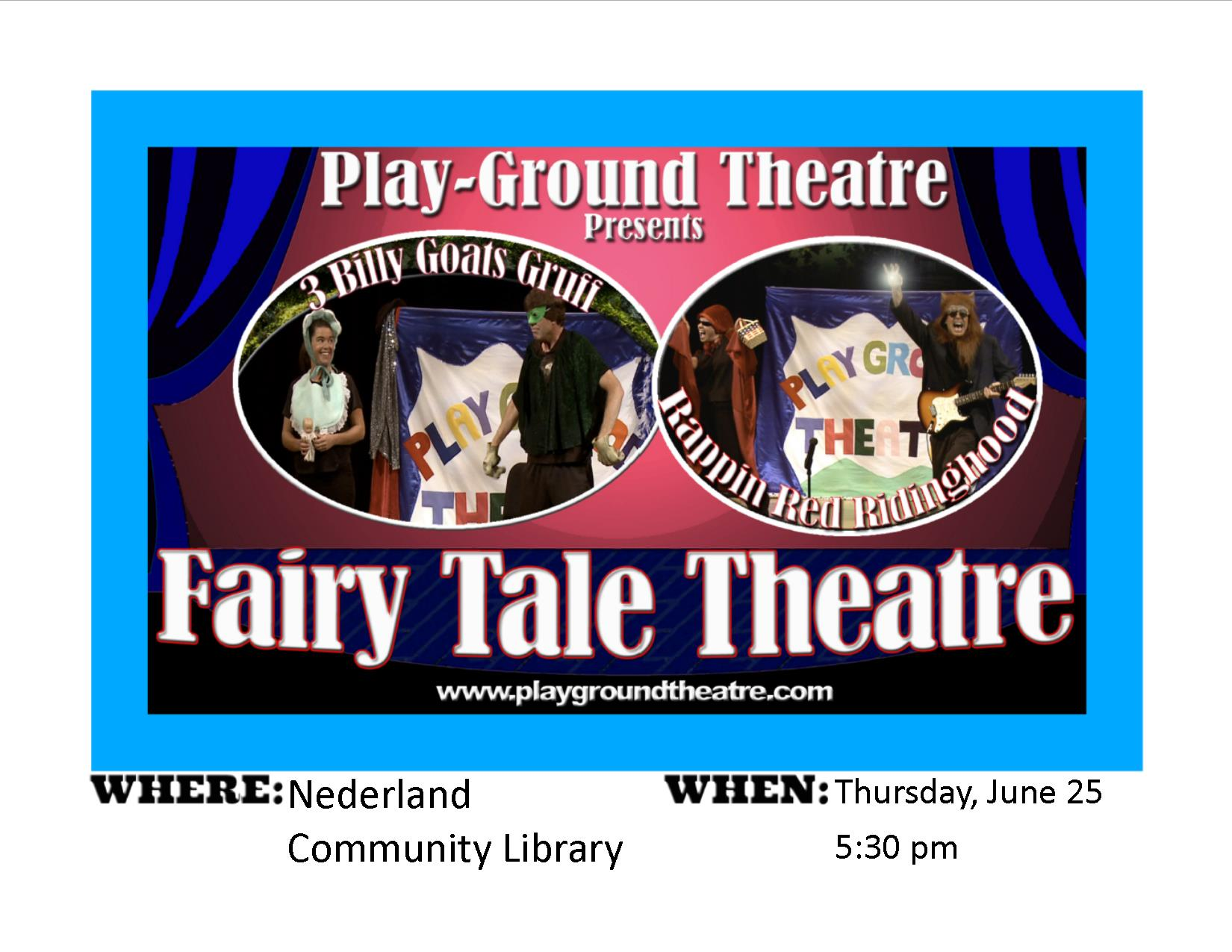 SRP Play Ground Theatre!