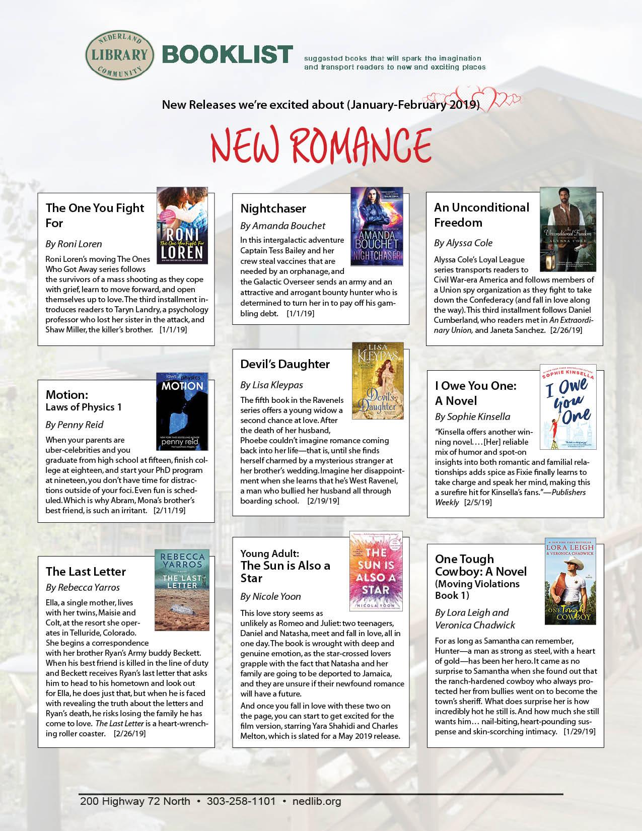 Romance New Releases